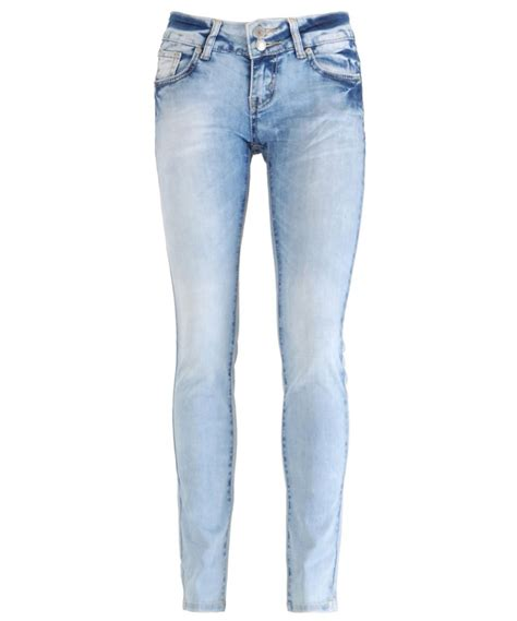 light wash skinny jeans new women light blue wash faded distressed skinny slim fit