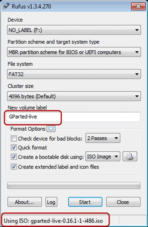 rufus tutorial iso make bootable flash device from iso image file