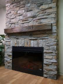 Fireplace With Stone How To Build Stacks Stone Veneer Fireplace Surround Design