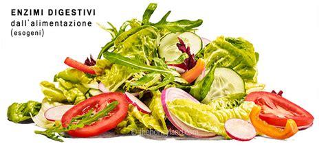 alimenti digestivi enzimi digestivi naturali migliori alimenti per la