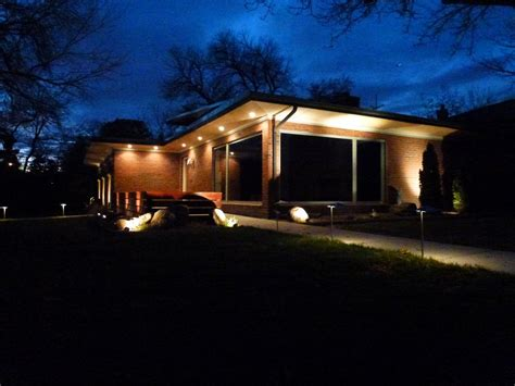 led soffit lighting outdoor led soffit lighting exterior iron blog