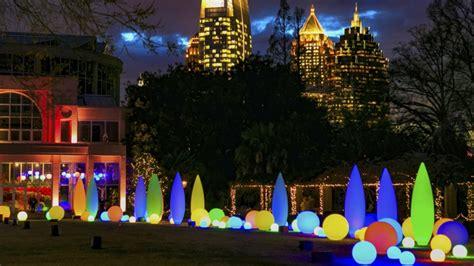 The Botanical Gardens Atlanta Atlanta Botanical Gardens Lights Brilliant