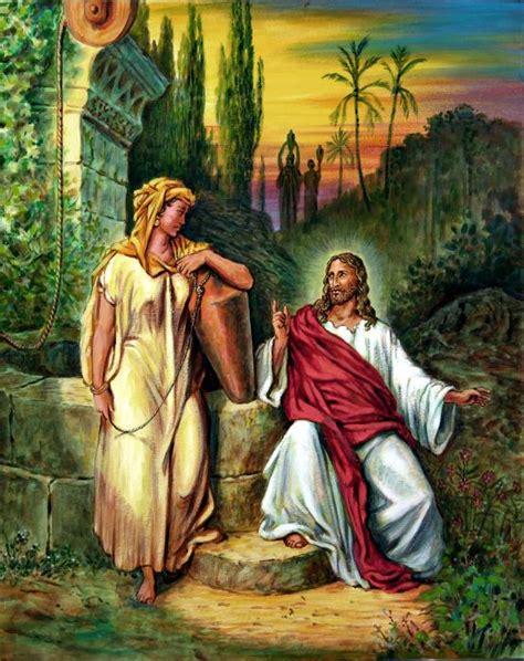 imagenes de jesus y la samaritana imagen semana santa jesus y la samaritana imagenes para