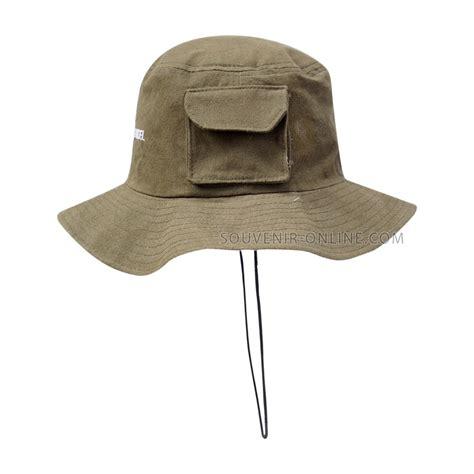 Cari Topi Rimba Topi Gunung Promosi topi rimba kanvas bordir telkomsel