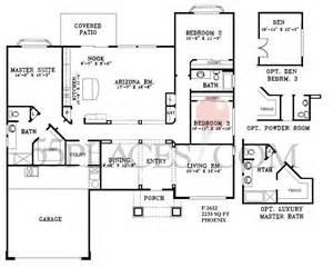Sun City West Az Floor Plans H787 Pheonix Floorplan 1710 Sq Ft Sun City West