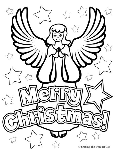 christmas coloring pages with words christmas angel coloring page 171 crafting the word of god