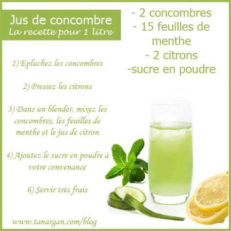 Y A Til Des Bienfaits A La Detox by Jus De Concombre La Recette Detox Qui Aide 224 Maigrir