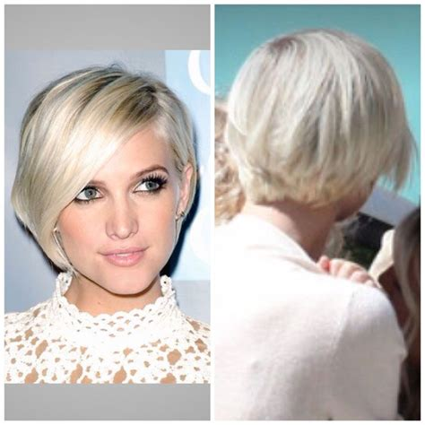 pixie cut that flips in back ashley simpson s bob back view hair styles i love