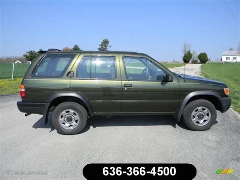 pathfinder nissan 1997 1997 dark green pearl nissan pathfinder xe 4x4 62865642