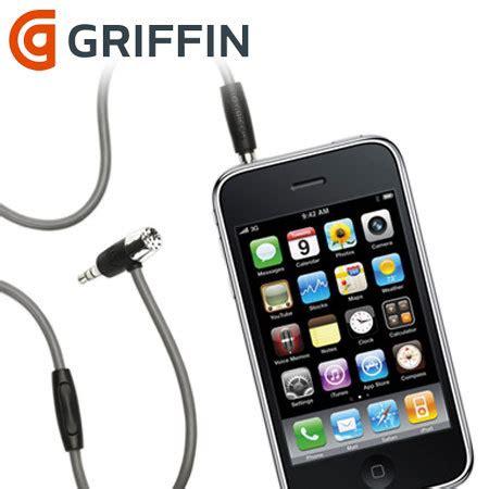Kabel Aux Griffin Berkualitas griffin mic aux kabel f 252 r iphone mobilefun de