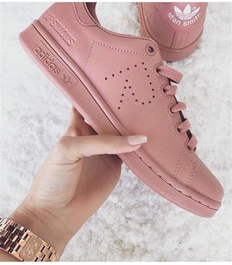 Light Pink Nikes Shoes Adidas Shoes Adidas Superstars Stan Smith Blush