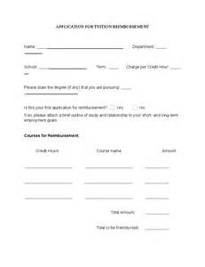 tuition reimbursement application template application for tuition reimbursement hashdoc