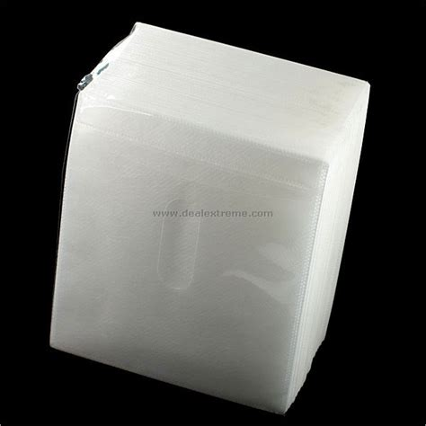 Cd Link Cd Sleeve sided plastic cd sleeves 100 pack free shipping dealextreme