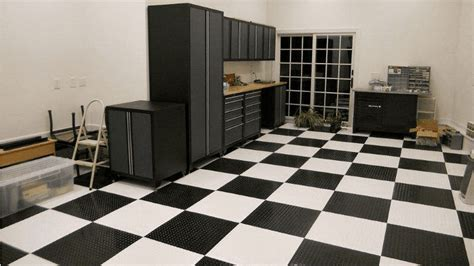 The Truth about Peel and Stick Vinyl Garage Floor Tiles