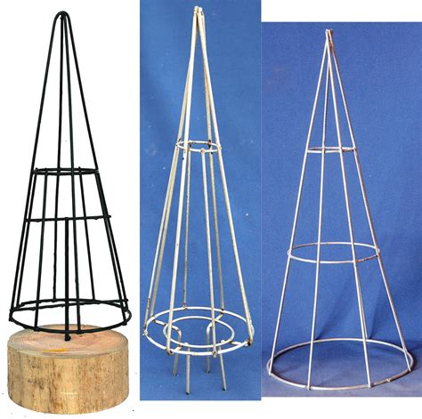 topiary christmas tree cone forms