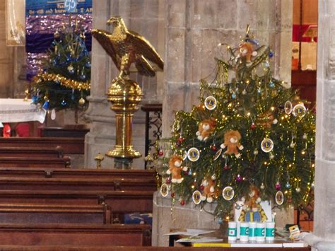 bangor cathedral stunning setting for christmas tree