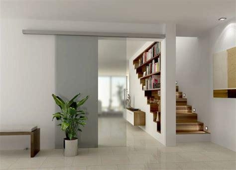 Délicieux Plante Verte D Interieur Pas Cher #4: cloison-amovible-pas-cher-pour-séparer-les-chambres-chez-vous-carrelage-gris-porte-coulissante-mur-avec-livres.jpg