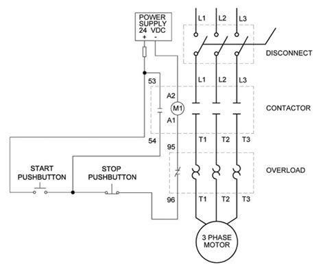 single phase motor contactor wiring diagrams get free