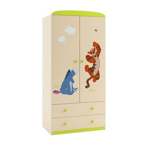 Winnie The Pooh Wardrobe by Winnie The Pooh Friends Wardrobe 90cm Azura Home Design