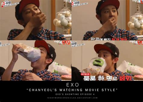 Film Exo Showtime | screencaps exo s showtime ep 4 chanyeol by