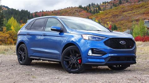2019 Ford Edge by 2019 Ford Edge St And Edge Titanium Drive Review