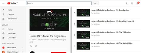 tutorial on javascript for beginners best nodejs getting started tutorials on air code