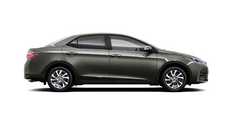 Toyota Corolla India New 2017 Toyota Corolla Altis India Official Images Side