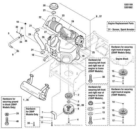 kawasaki lawn mower engine parts diagrams lawn mower 19 hp kawasaki engine diagram wiring diagrams
