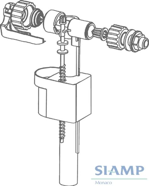 Baths Showers siamp compact 95l side inlet valve