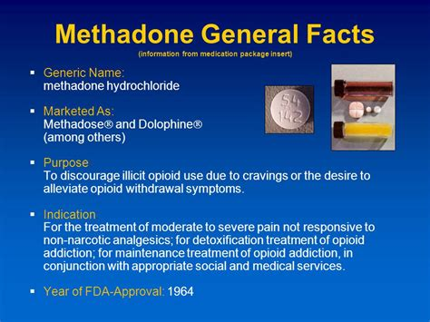 Facts About Methadone Detox by Prescription Abuse Ppt
