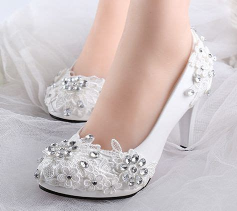 Wedding Shoes Low Heel Cheap by Get Cheap Bridal Shoes Low Heel White Aliexpress