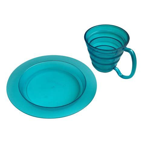 Plate Mug ergo plate and mug set flaghouse