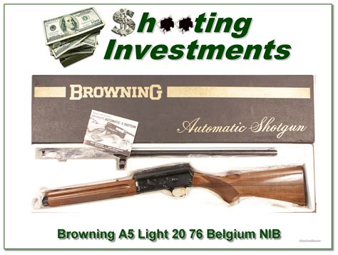 lights for sale browning a5 light 20 in box and for sale
