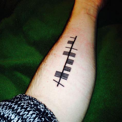 ogham tattoo 25 best ideas about ogham on gaelic