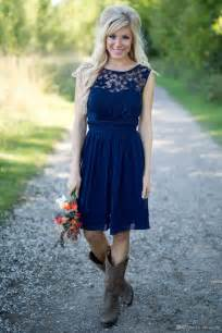 country style of the dresses 25 best ideas about western bridesmaid dresses on