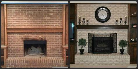 Resurfacing Brick Fireplace Ideas by Fireplace Decorating Incredibly Easy Fireplace Resurfacing
