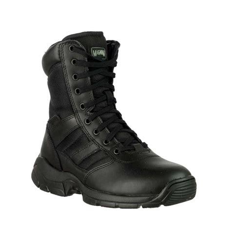 almost magnum zip black magnum panther 8 inch side zip 55627 black unisex boots