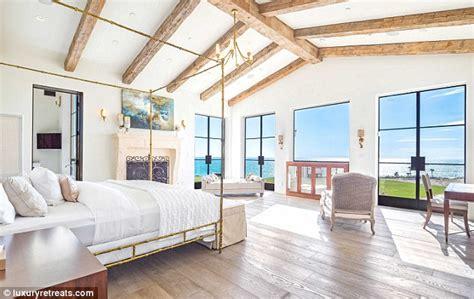 rihanna s bedroom inside drake s 29m malibu rental mansion daily mail online