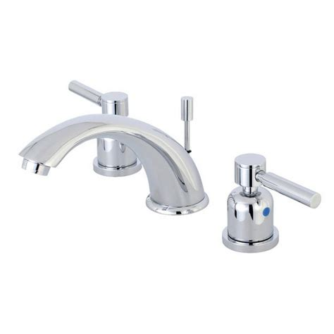 polished brass bathroom faucets widespread kingston brass concord 8 in widespread 2 handle bathroom
