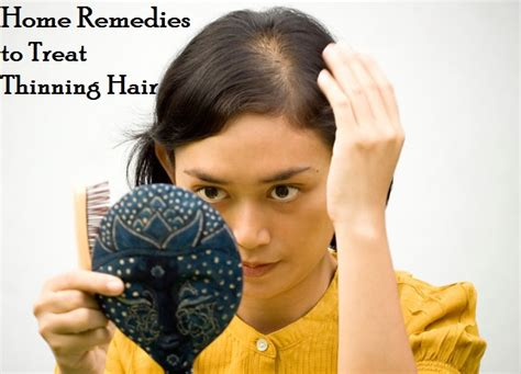 natural home remedies  thinning hair treatment  women