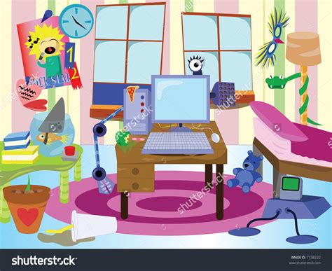 messy bedroom cartoon room clipart messy room pencil and in color room clipart