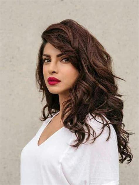is highlighted hair dated priyanka chopra make up ideas pinterest bollywood