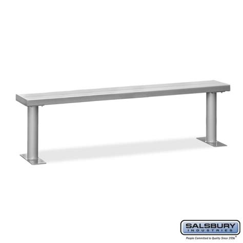 bench lockers salsbury 4 aluminum locker bench