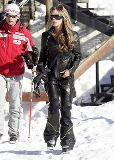 Posh Wants To Borrow Jlos by Winter Sports Wear On Snowboards Ski