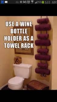 Pinterest Bathroom Storage Ideas by Bathroom Towel Storage Idea Organize Pinterest
