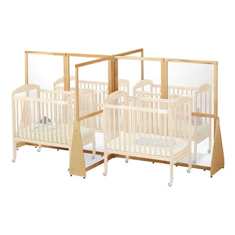 Crib Divider For by Daycare Cribs Commercial Folding Crib Play Pin Baby
