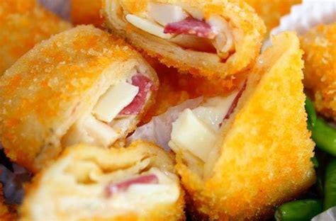 resep risoles smoked beef cheese goreng  tepung roti