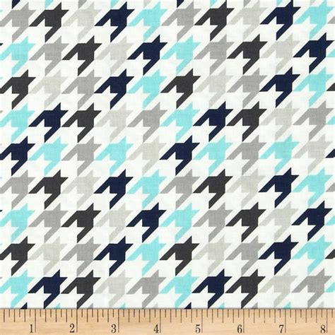 Houndstooth Blue small houndstooth blue gray discount
