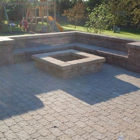 paver pit plans pin by on garden and patio