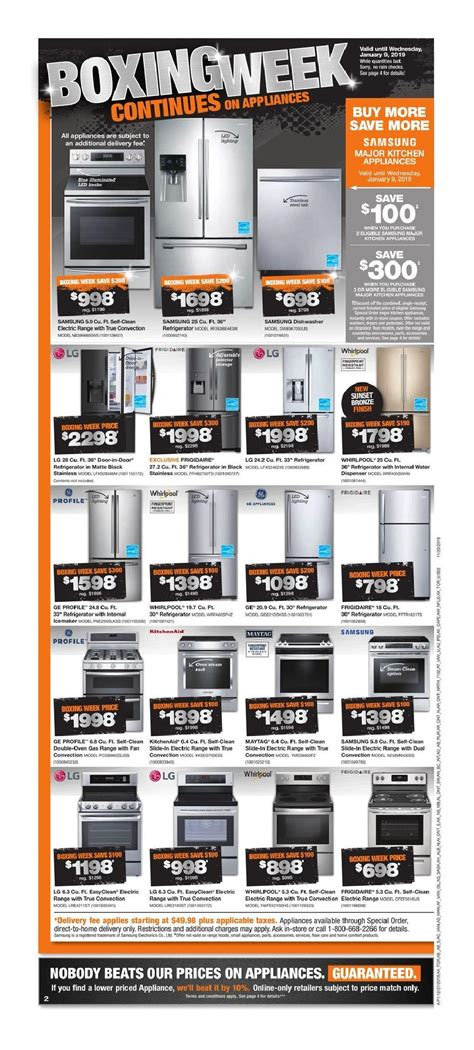 home depot boxing day sale flyer canada